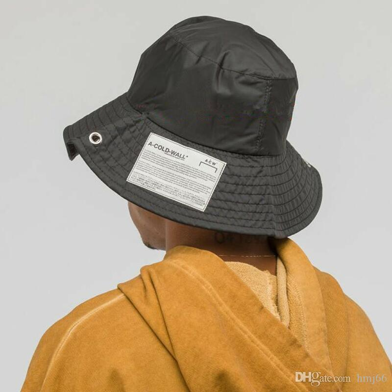 822ae9f6f33 2019 Latest Japan FW Hip Hop Men Women ACW A-COLD-WALL Hats ...