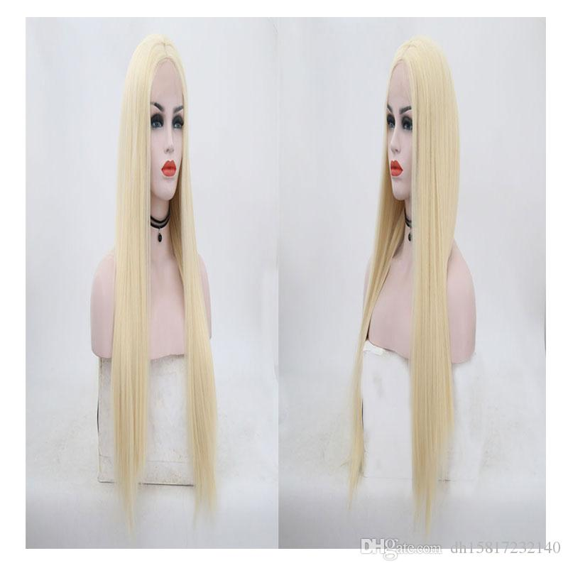 French long and straight hair wig, tailored for women, natural hair, light and breathable, comfortable to wear.TKWIG