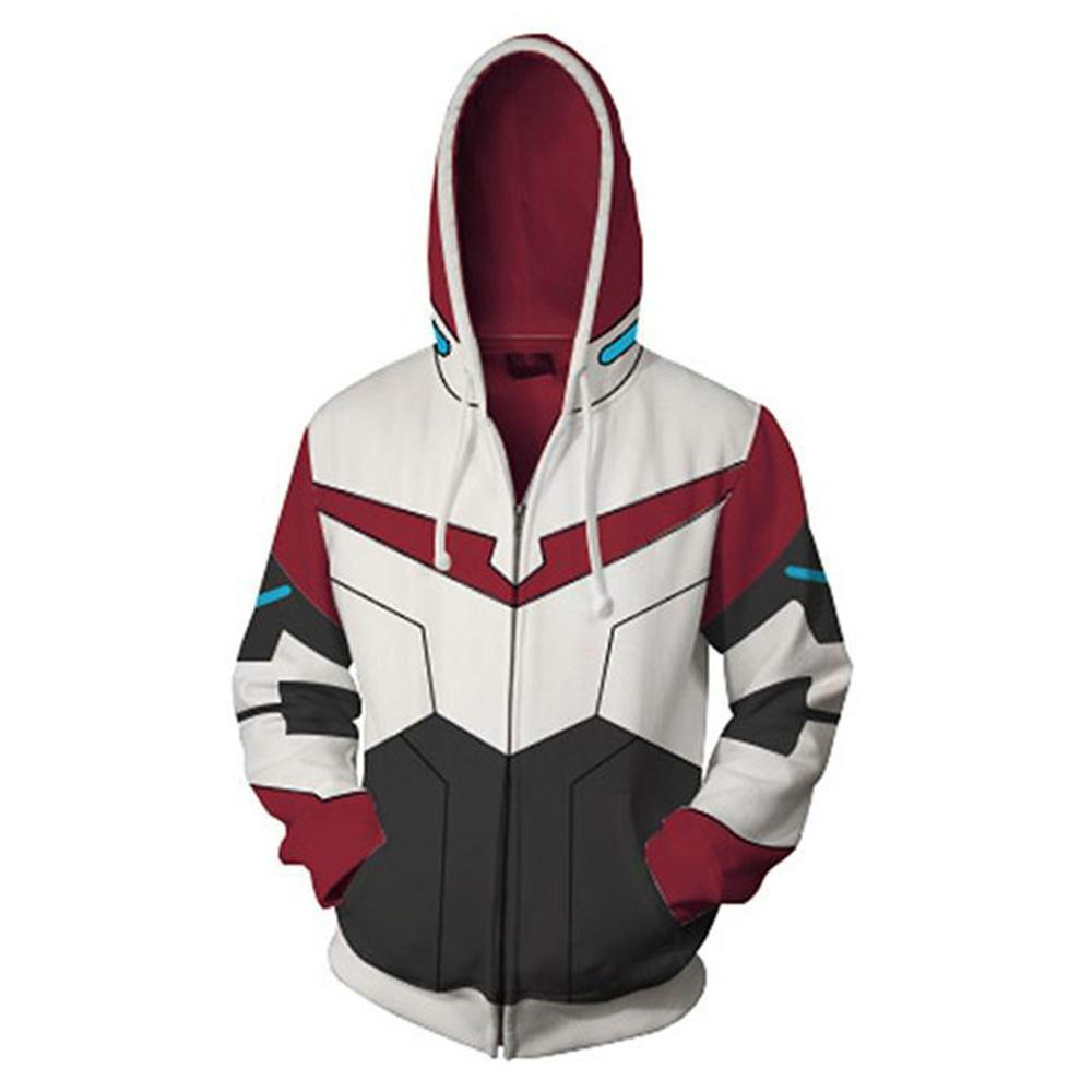 4e932ed3e 2019 Heap S &Amp; Sweatshirts Voltron:Legendary Defender Lance Hoodie 3D  Printed Zipper Up Hooded Hoodie Adult Men Casual Sweatshirt Cool Zip .