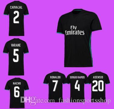2019 Vender Caliente Camiseta Del Real Madrid 17 18 Nueva Temporada Casa 7ª  C Ronaldo Servicio De Fútbol Real Madrid Segundo Traje De Distancia Por ... a6f51bec166e0