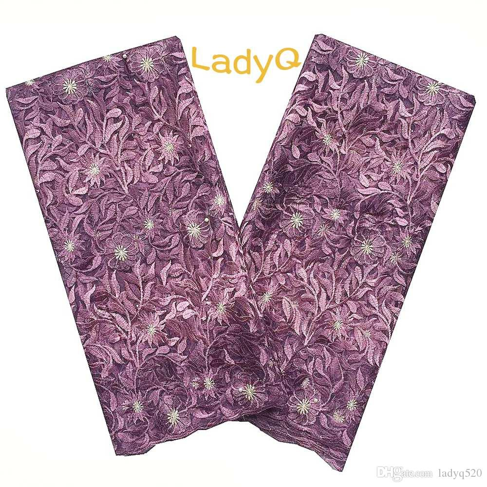41160a8ed55 Ladyq light purple african wedding bridal lace fabric yard jpg 1000x1000  Violet light purple lace cloth