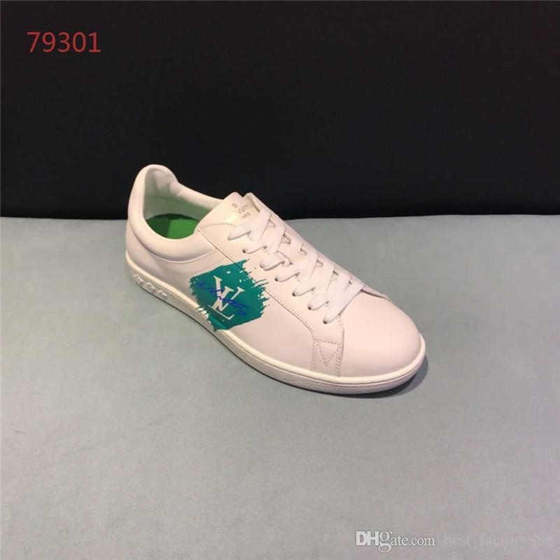 a764f2f4647 Compre Sapatilhas De Luxo Homens Sapatos Baixos Leve Design De Moda ...