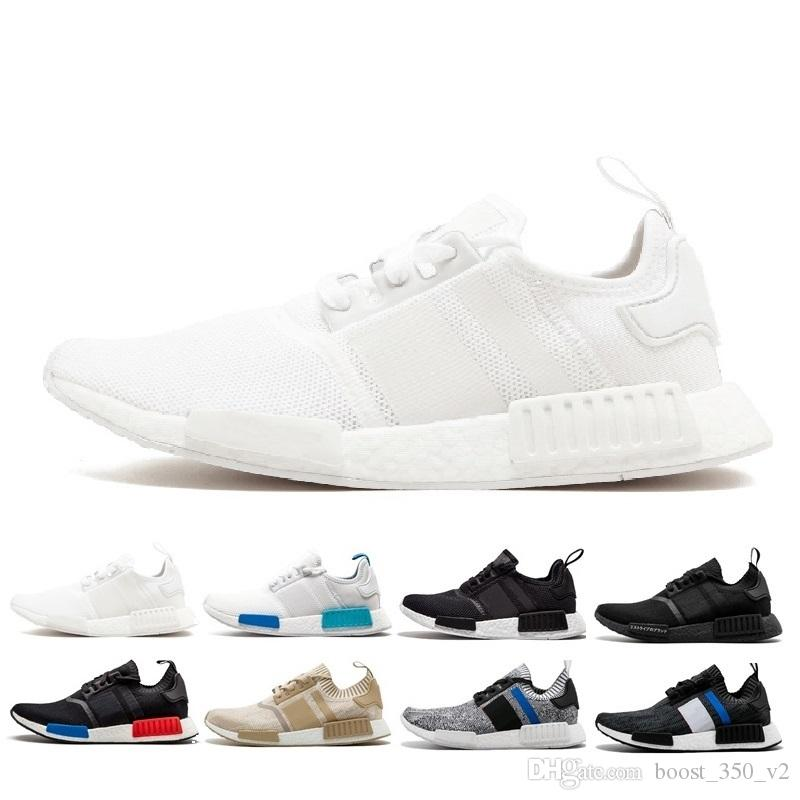 the latest cf401 b4dd4 2019 Newest NMD XR1 Mens Casual Shoes Sample Yellow Core Black Designers  Shoes Men Women Shoes 36-45