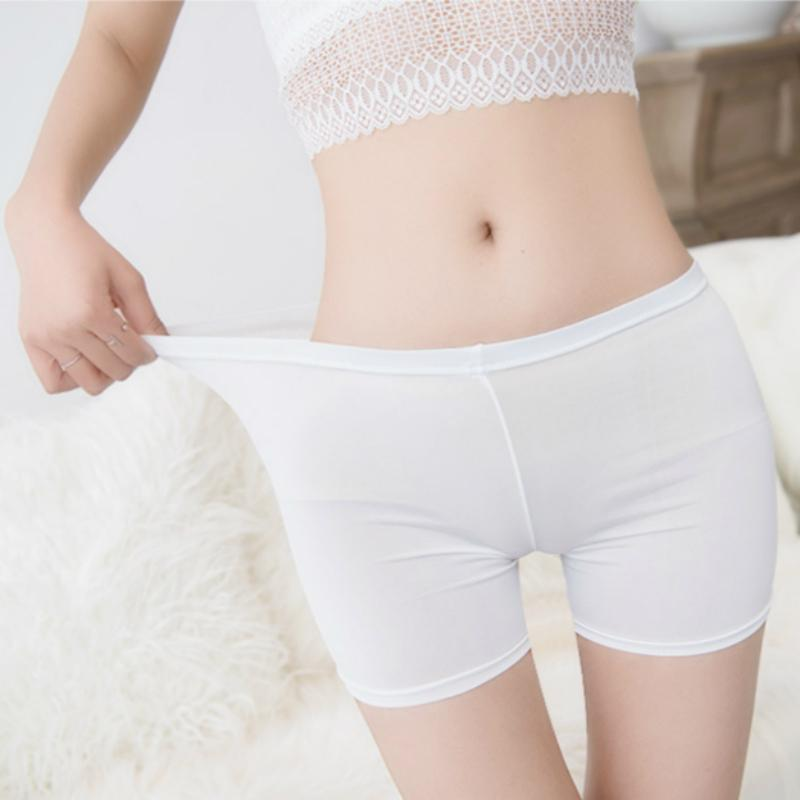 afe6faa4f 2019 Underwear Safety Pants Shorts Causal Lace Hot Shorts Elastic Pants  Trousers Anti Emptied Boyshorts Girls Slimming Underwear From Dartcloth