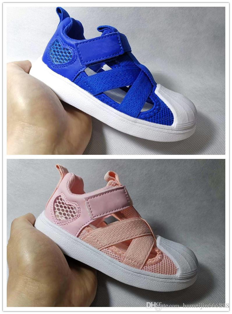 db5807345d 2019 Kids Sandals Superstar Shoes Kid Designer Shoes Breathable Comfortable  Infant Boys Girls Beach Sandal Toddler Shoes 26 35 From Humeijin666888, ...
