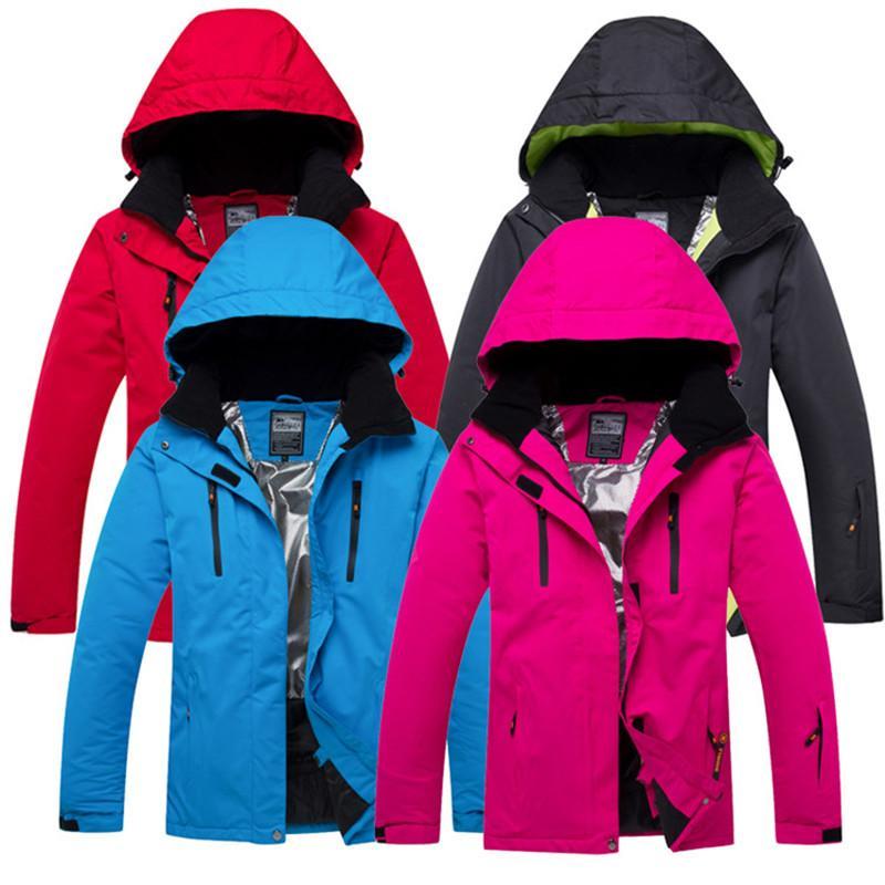 Solid Color Waterproof Windproof Winter Snow Jacket Women Men Snowboard  Jacket Men Ski Winter Warm Coat Thick Coat Women Skiing Jackets Cheap Skiing  Jackets ... aee842cd4