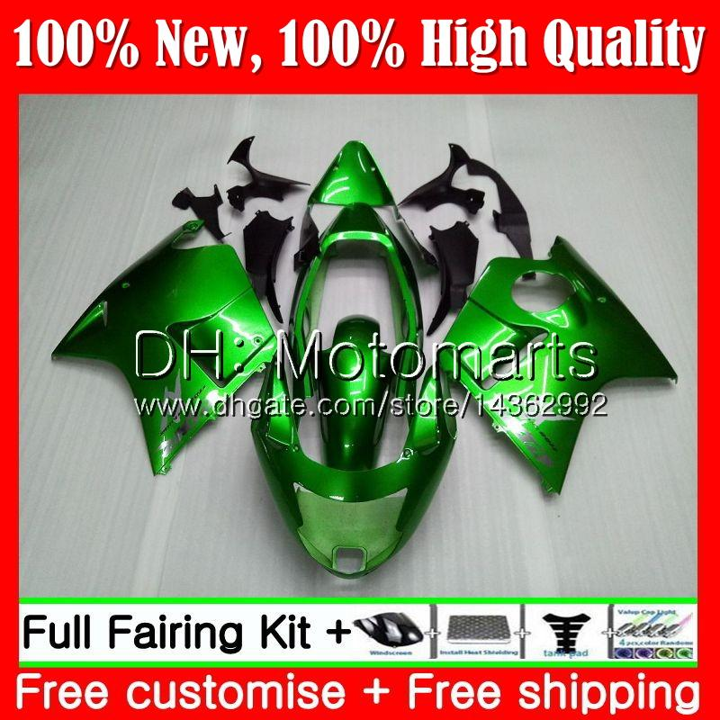 Carenado para HONDA Blackbird CBR1100XX 96 97 98 99 00 01 53MT7 ALL Green CBR1100 XX CBR 1100XX 1996 1997 1998 1999 2000 2001 Kit
