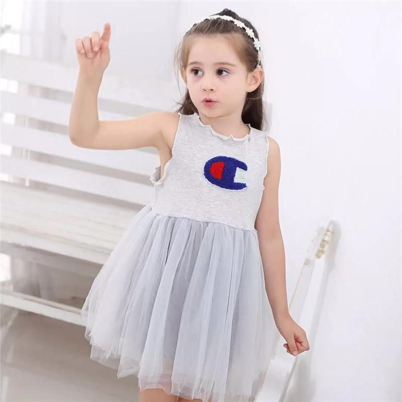 2bf54efc1dfb 2019 New Summer Princess Dress 2019 Cute Baby Girls Vestidos Party Wedding  Dresses High Quality Fantasias Infantil Ball Gown Dress From Textgoods01