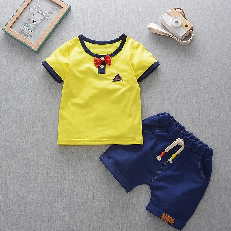 46413bb51 2019 Good Quality Baby Boys Clothing Sets Summer Hot Sale Brand Boys Clothes  Suit Kids T Shirt Shorts Tracksuit For Boys Clothing From Nextbest05, ...