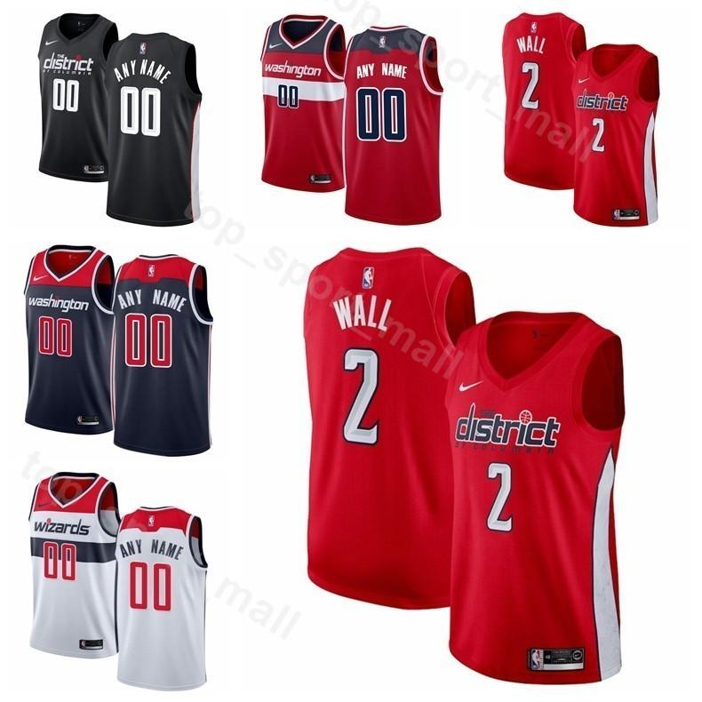 258bac2bd8b 2019 Men Youth Women Printed Basketball Wizards John Wall Jersey 2 Bradley  Beal 3 Dwight Howard 21 Trevor Ariza Jeff Green Edition City Earned From ...
