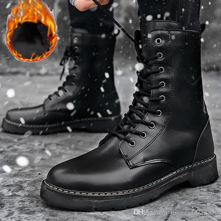 d0bf1120 Marca de moda Diseñador de lujo Botas medias hombre mujer zapatos invierno  TBL Heel botas de nieve Moto de cuero de lujo zapatos martin Bota de alta  ...
