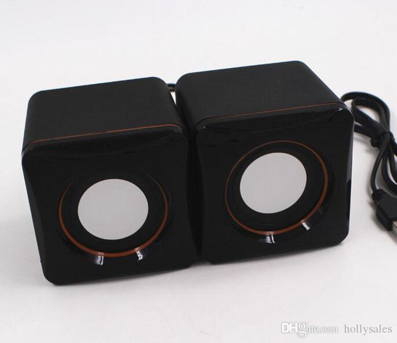 Computer speakers Mini Portable Wired Tablet USB Speaker Multimedia Stereo Sound Speakers For Laptops PC Phone 3.5MM AUX