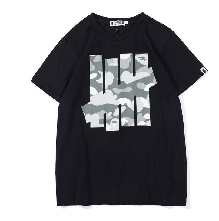 d40c0de9 High Qualit Men ' ;S Women ' ;S T Shirt Euro American Tide Camouflage Black  Printed Men And Women Sports T Shirt Black White Fr T Shirt Designing ...
