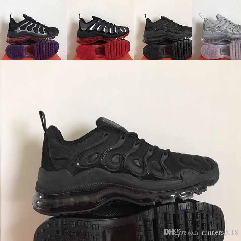 more photos a6d9a 175c3 Großhandel Prestos 5 2019 Neues Design Hochwertige TN Damenschuhe Atmungsaktives  Mesh Chaussures Homme Tn REqUin Noir Lässige Runner ShOes Größe 5.5 11 Von  ...