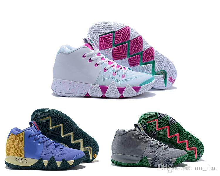 Scarpe Da Corsa Nike 2018 Alta Qualità 4 Scarpe Da Basket Professionali IV  Vendita Calda Pasqua Che Cosa È La Scarpa Sportiva Kyrie Cheap 4s Da Uomo 7  12 ... a8828d0b2357