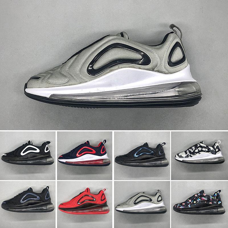 99f7d7ebba0 Acheter Nike Air Max 720 Enfants 720 Chaussures De Course Pour Garçon Max  Air Coussin Sneakers Filles Luminous Sneaker Enfant Glowing Chaussures  Taille 28 ...