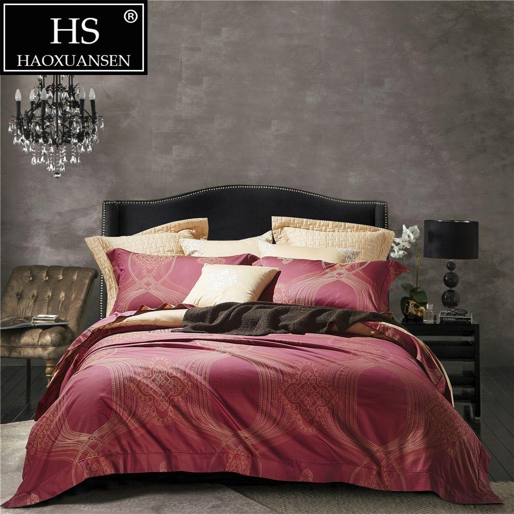 100 Percent Cotton Jacquard Baroque Paisley Design Red Gold Beige
