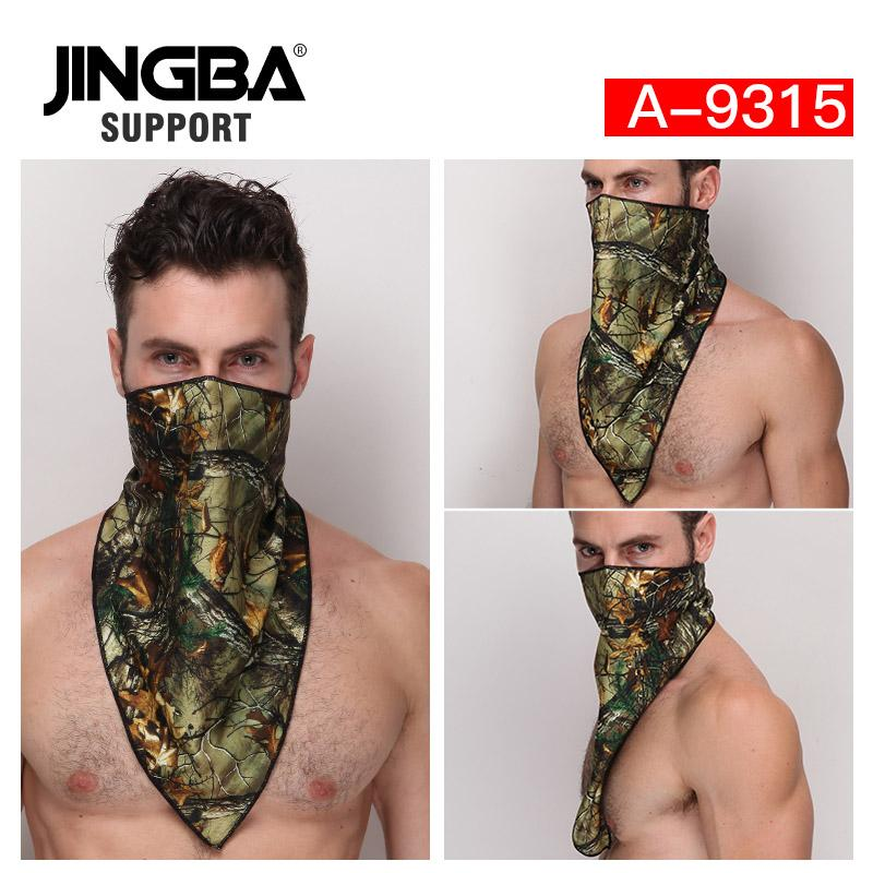 JINGBA SUPPORT 2019 Halloween cool mask Outdoor sport facemask Cycling Bike Mask Ski Bandana Half face Dropshipping