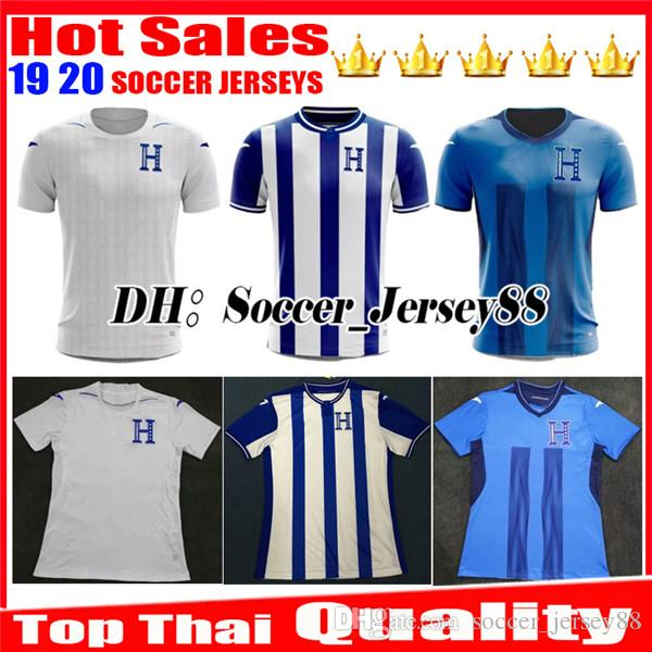 ac1ef1b1818 2019 2019 20120 Honduras Soccer Jersey 19 20 Camisetas Honduras Home Away  Third Football Shirts Lozano #9 Quioto #12 Jerseys Football Shirts From ...