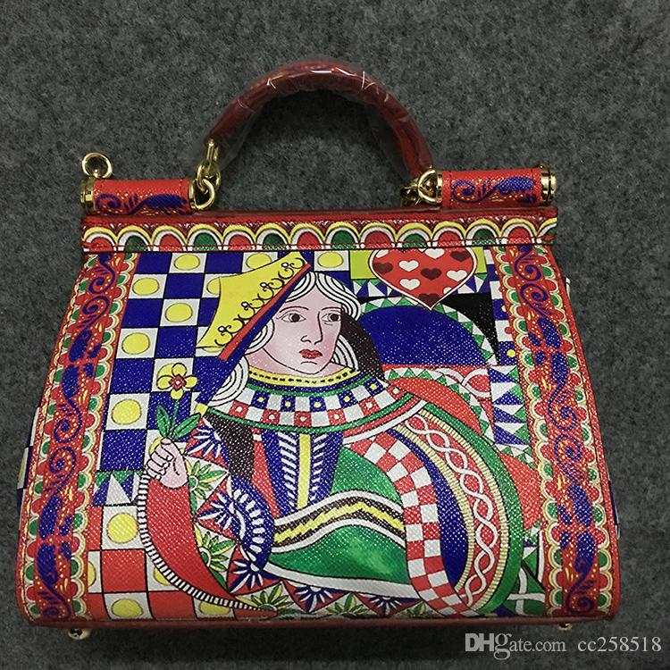 b1c40c7fd3 Lady Queen's Heart Sicily Handbag Stamp Online with $132.94/Piece on ...