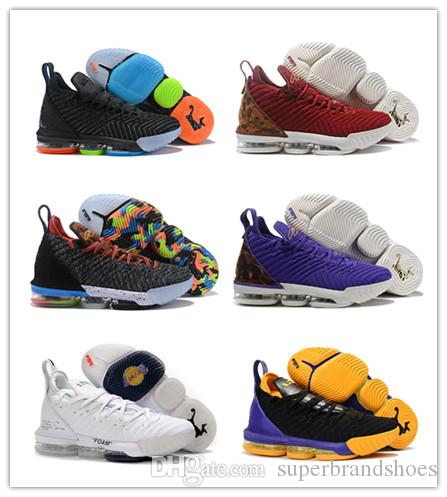 a5cccabdc75 Lebron 16 Men Basketball Shoes 1 Thru 5 Lakers Floral Multi Color I Promise  Trainers King 1 MVP Christmas Oreo One Generation Sneakers Long Down Coat  For ...