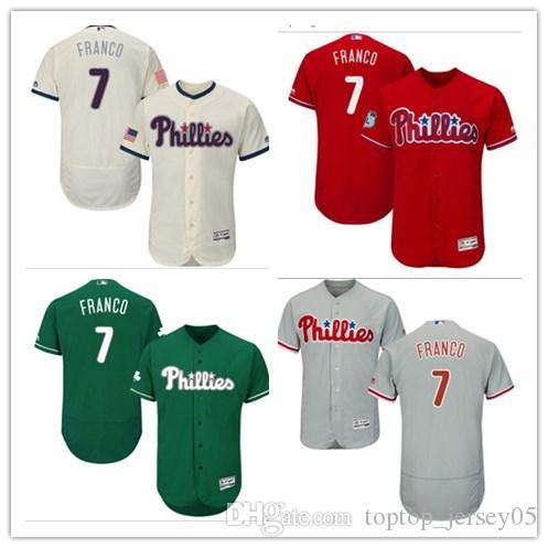 2018 Philadelphia Phillies Jerseys  7 Maikel Franco Erseys Men WOMEN YOUTH  Men S Baseball Jersey Majestic Stitched Professional Sportswear UK 2019  From ... 05018b3ea9d5