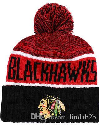 2019 BLACKHAWKS Beanie CHICAGO Winter Knitted Hats Adult Sport Knit Hat Cap  Beanies Basketball Baseball Football Winter Beanies 1000+ 00 UK 2019 From  ... a2742ff293f