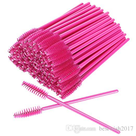 Brosses à cils jetables Baguettes de mascara Eye Lash Applicateur de sourcils Maquillage cosmétique Brush Tool Kits