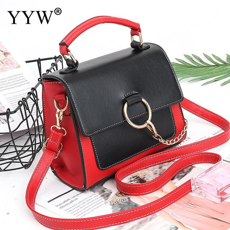 3586fb7a1770e 2018 Summer Fashion Women Bag Leather Handbags Pu Shoulder Bag Small ...