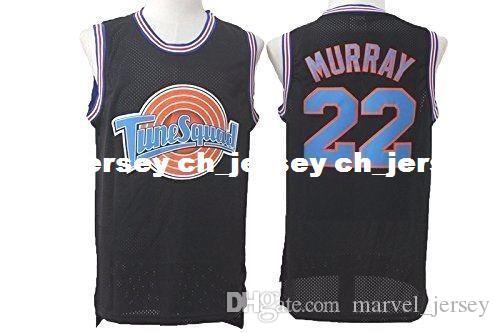 487597abafa 2019 Cheap Custom #22 Bill Murray Space Jam Tune Squad Basketball Jersey  Black Stitched Customize Any Number Name MEN WOMEN YOUTH XS 5XL From  Marvel_jersey, ...