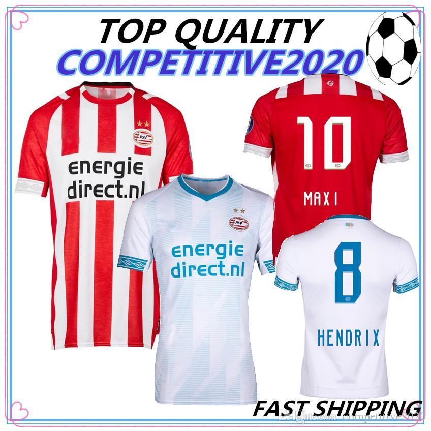 d9a1ced5d62 2019 2018 2019 TOP QUALITY PSV Eindhoven Soccer Jersey 18 19 Champions  League H. Lozano Bergwijn L.DE JONG Maxi Hendrix Pereiro Football Shirts  From ...