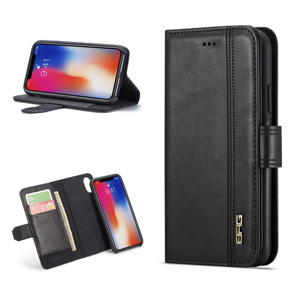 56123f2e58b9 Luxury Magnet Phone Case For IPhone X Xr Xs Max 2 In 1 Wallet Case  Removable Back Cover With Kickstand Card Slots For IPhone 6 6S 7 8 Plus  Personalized Cell ...