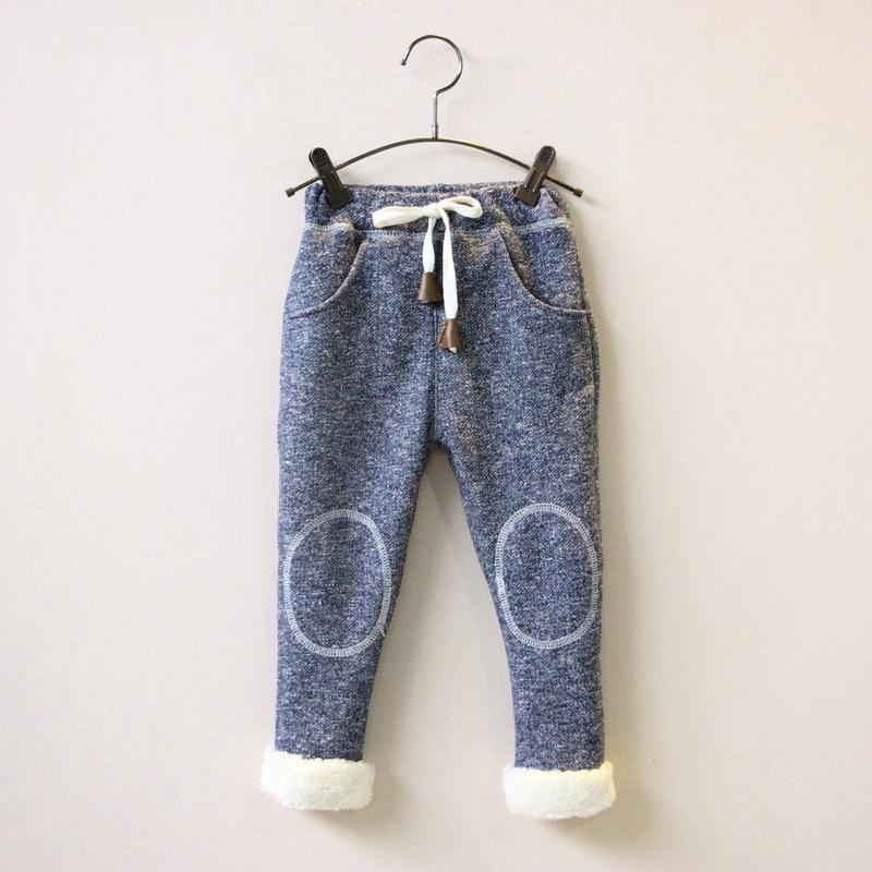 good quality autumn winter baby girls Pants kids Casual cotton Trousers Leggings girls thick velvet pants Trousers christmas pants
