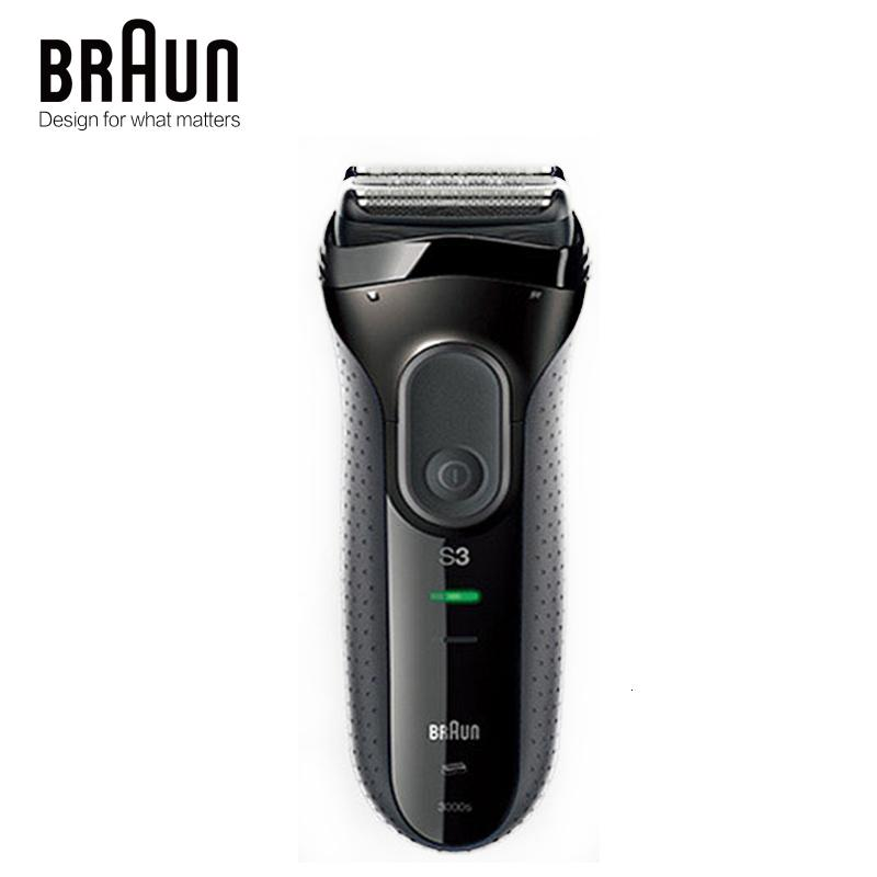Braun Series 3 3000S Men's Electric Razor 3 Independently Floating Shaving Elevments Dry & Wet Electric ShaverMX190926