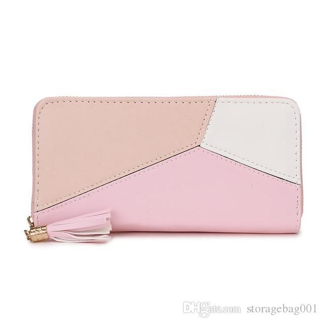 953d1b2441c 2019 PU Women Wallet Best Design High Quality Fashion Wallet Female ...