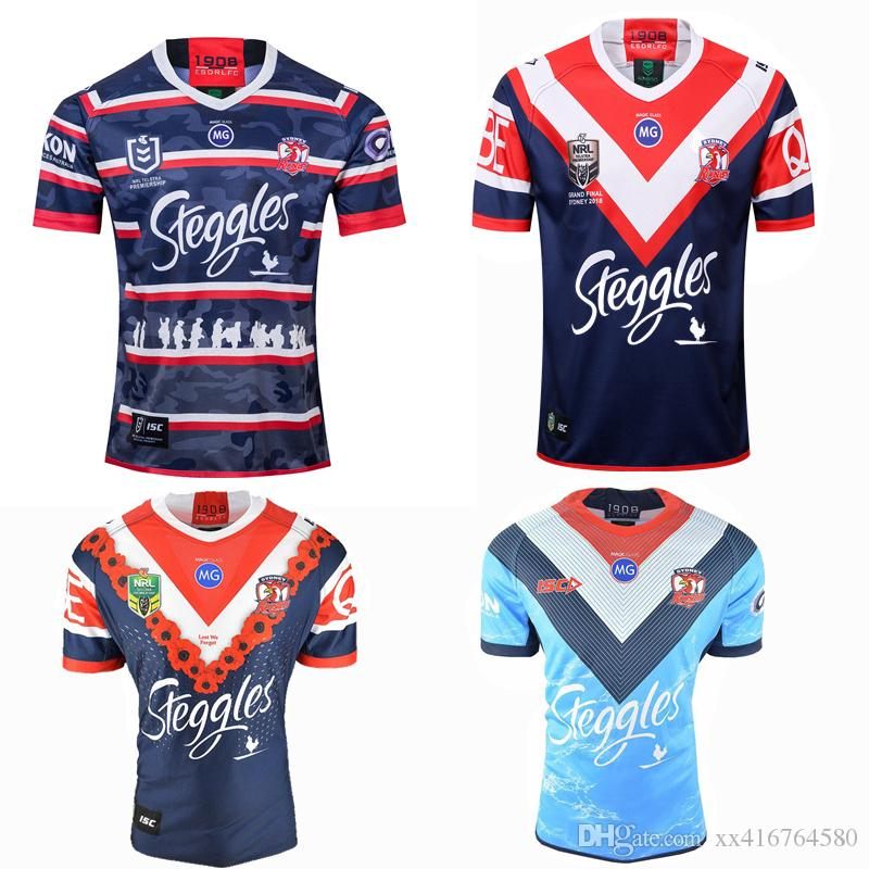 dd8077ed621 2019 NEW 2018 2019 2020 Sydney Roosters Nines Rugby Jersey 18 19 20  Roosters Auckland 9 S Home Away Shirt S 3XL From Xx416764580, $15.21    DHgate.Com