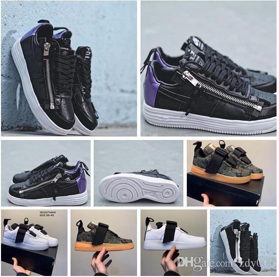 bea8d369cc0 Compre Off Force Zapatillas De Running Para Hombre 1 Low Hombre Zapatillas  De Deporte Fuerzas Hombres Entrenadores Deportes Skateboard One Sports  Blanco ...