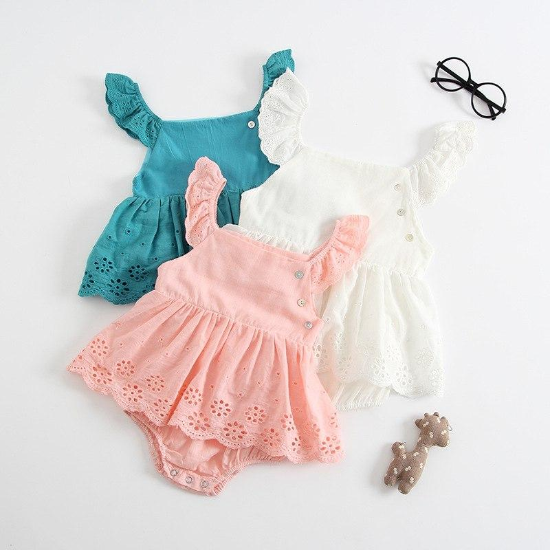 Baby Girl Summer Clothes Cotton Bodysuits