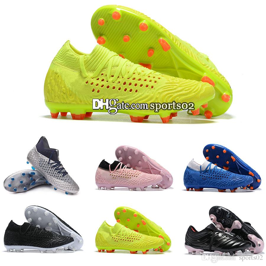 51b76821f 2019 2019 New Pum Mens Future Netfit Griezmann 19.1 FG EvoSPEED Netfit  Soccer Cleats High Quality Soccer Shoes Football Boot Low Price Wholesale  From ...
