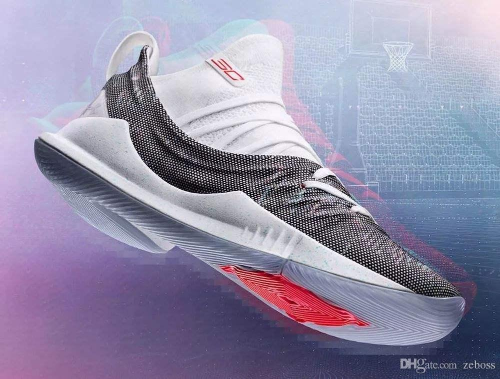 6bcb6b2e4fc Cheap 2018 New Curry 5 Men Basketball Shoes Curry 5s Championship MVP Finals  Sports Training Mens Trainers Sneakers Size 40-46