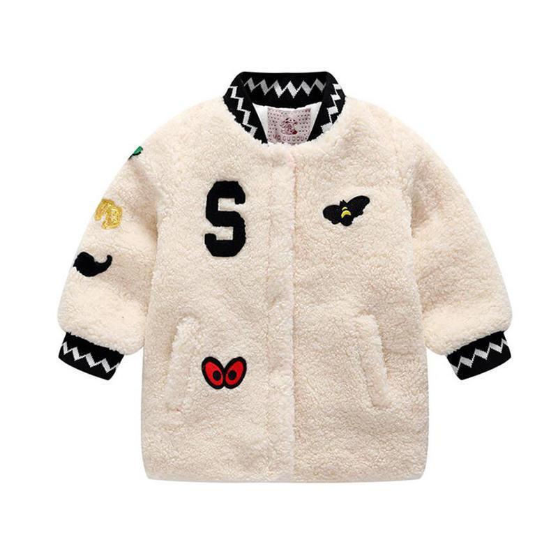 99a4e389ac9d Bibicola Baby Girls Winter Coat Girl Warm Cotton Jackets 2018 Winter  Cartoon Children Trench Coats Kids Outfit Clothing Packable Down Jacket  Kids Girls Down ...