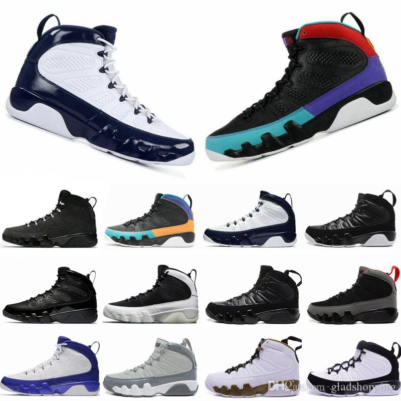watch c85b7 42670 9 Dream It, Do It UNC Bred Lakers Space Jam Anthracite Statue Barons Men  Basketball Shoes Sneakers Cheap New IX 9s Sport Trainer Jordans Shoes Sport  Shoes ...