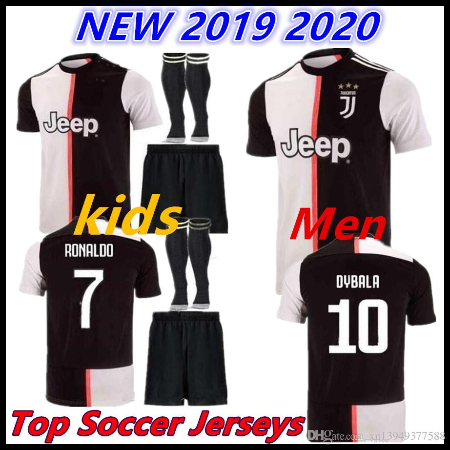 2019 Juventus 2019 2020 Ronaldo Soccer Jerseys Dybala 19 20 Sports