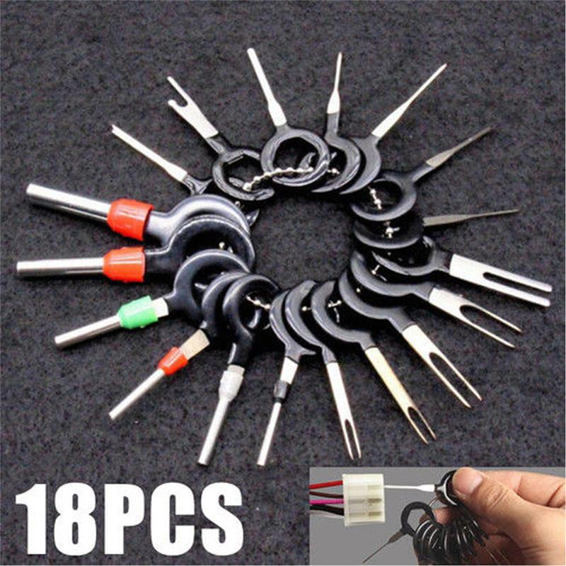 Car Wire Terminal Removal Tool Wiring Connector Pin Extractor Puller Tools