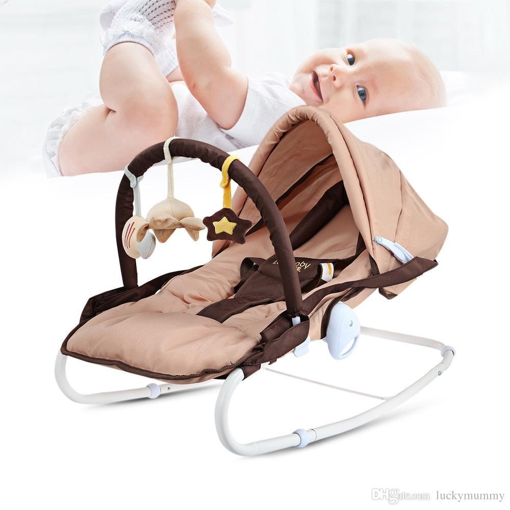 2019 Ibelibaby Baby Rocking Chair Chaise Newborn Cradle Seat