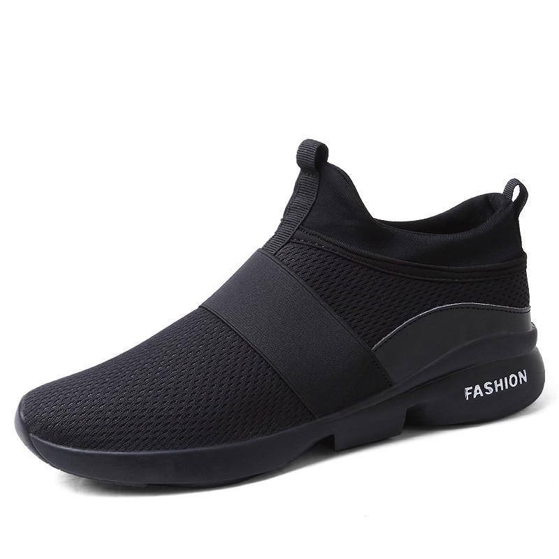 New Four Seasons Male Shoes Cheaper Comfortable Men Boots Breathable High Quality Brand Sapatos Masculinos Casual Shoes Sneakers For Fast Shipping Men's Shoes Basic Boots