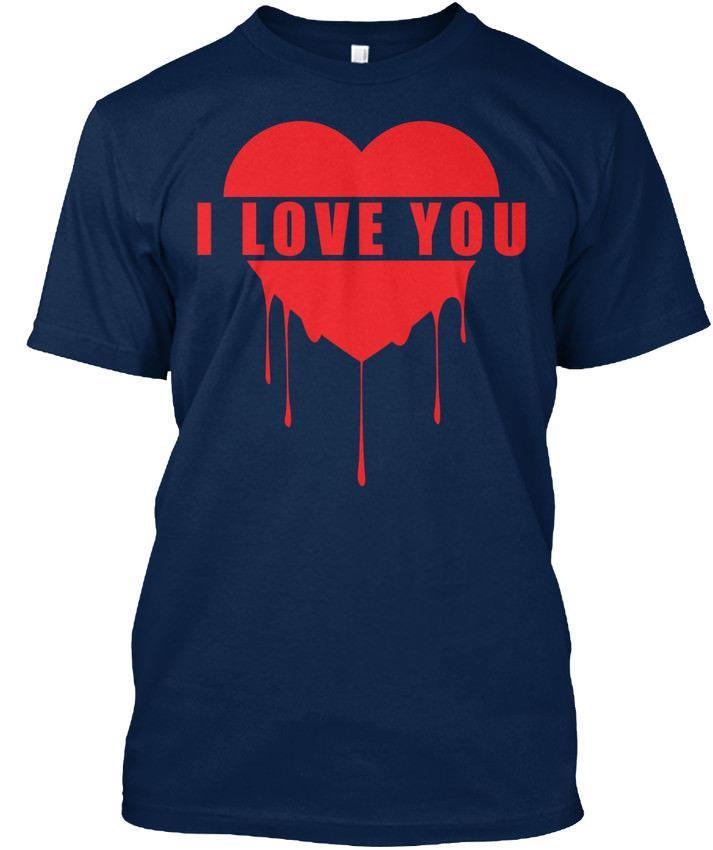 Special T Si >> Special Valentine T S I Love You Standard Unisex T Shirt S 5xl Crazy
