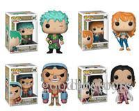 Good Cute present Funko POP Anime: One Piece Zoro Nami Franky Boa. Hancock Vinyl Action Figure With Box Toy