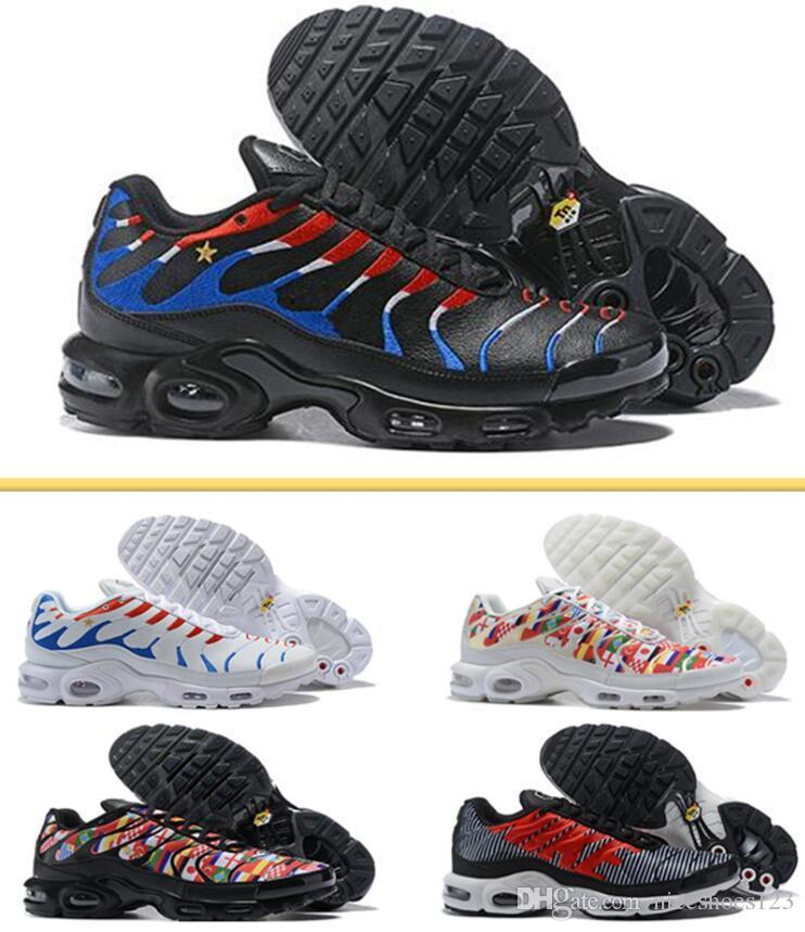 66269bdf71c2 New Design 2019 Chaussures Tn Women RunninG Shoes Tn Plus UlTRA Breathable Basket  Tn Requin Femme Noir Jogging Trainers Sports 270 Sneakers Running Shoe ...