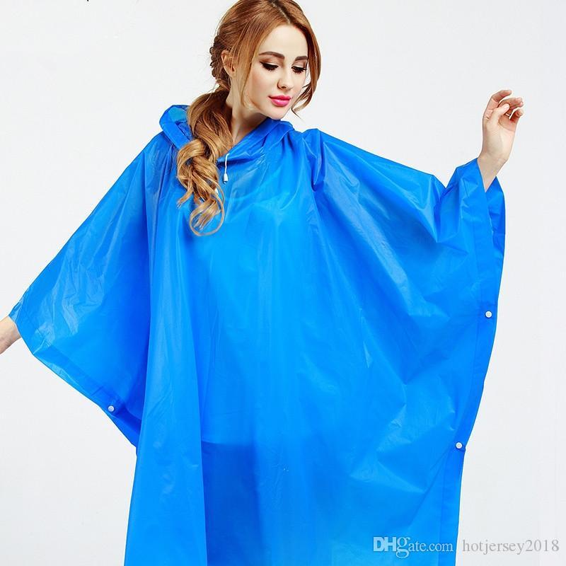 Bekleidung 10 Stk Wasserdicht Staubdicht Einweg Regenmantel Regenumhang Regenponcho Gelb